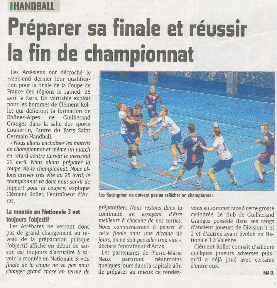 Article Presse Championnat Et Coupe De France Racing